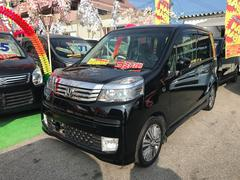 沖縄の中古車 ホンダ ライフ 車両価格 51万円 リ済込 平成23年 7.0万K ブラック