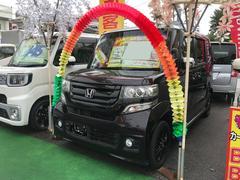 N BOXカスタムG・Lパッケージ ワンセグナビ