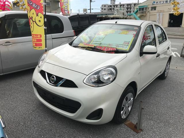 沖縄県の中古車ならマーチ S ナビ バックモニター