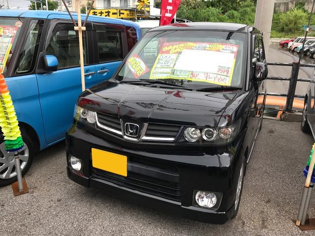 沖縄の中古車 ホンダ ゼストスパーク 車両価格 47万円 リ済込 平成22年 8.1万km ブラック