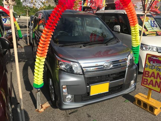 沖縄の中古車 ダイハツ ムーヴ 車両価格 59万円 リ済込 平成25年 8.5万km グレー