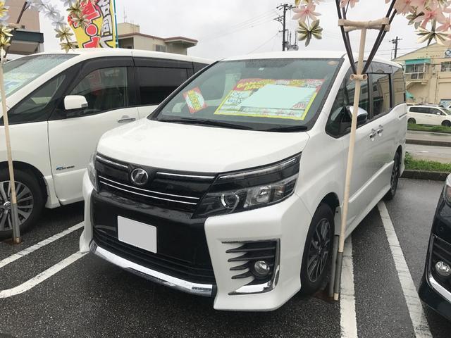 沖縄県の中古車ならヴォクシー ZS 煌 フルセグナビ