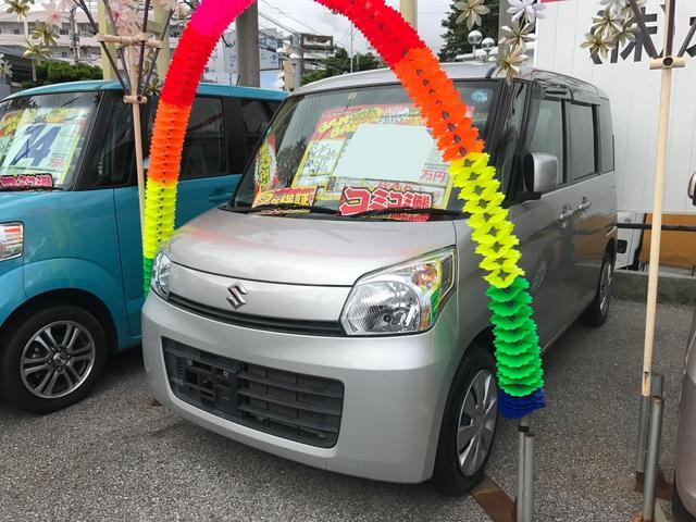 沖縄県の中古車ならスペーシア G エネチャージ