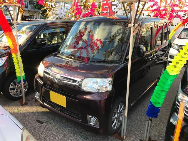 沖縄の中古車 ダイハツ タント 車両価格 57万円 リ済込 2013(平成25)年 8.2万km パープル