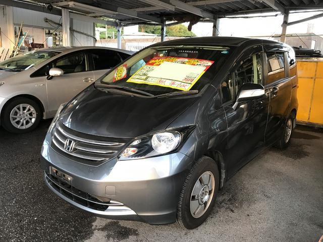 沖縄の中古車 ホンダ フリード 車両価格 44万円 リ済込 2010(平成22)年 7.7万km グレー