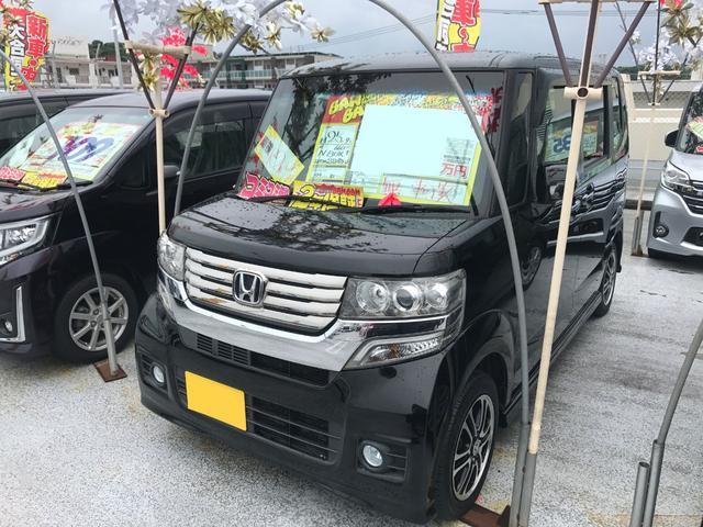 沖縄県の中古車ならN-BOX+カスタム G SSパッケージ