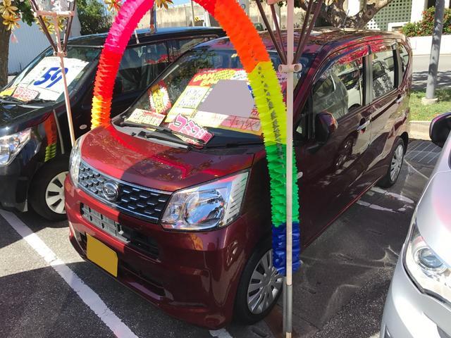 沖縄の中古車 ダイハツ ムーヴ 車両価格 61万円 リ済込 2015(平成27)年 7.0万km レッドメタリック