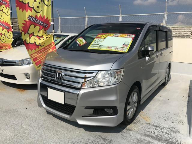 沖縄県の中古車ならステップワゴンスパーダ Z ワンセグHDDナビ