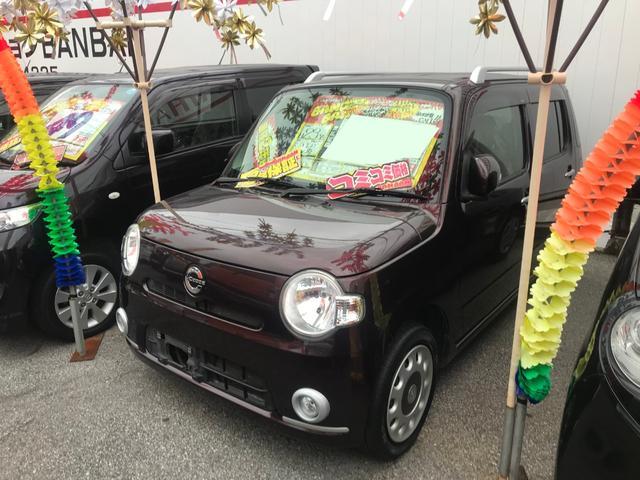 沖縄県の中古車ならミラココア ココアプラスX ワンセグナビ