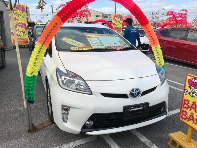 沖縄県の中古車ならプリウス S ナビ
