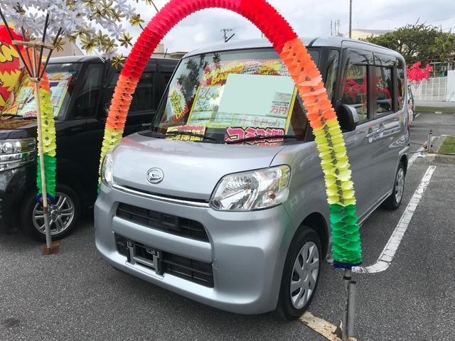 沖縄県豊見城市の中古車ならタント L SA フルセグナビ バックモニター