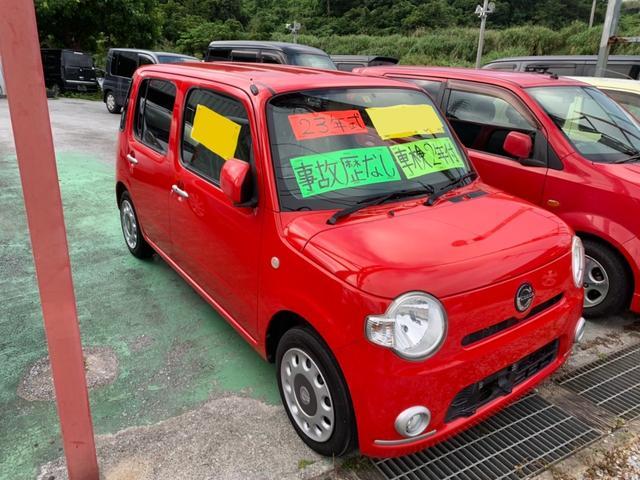 沖縄の中古車 ダイハツ ミラココア 車両価格 31万円 リ済込 2011(平成23)年 9.4万km レッド