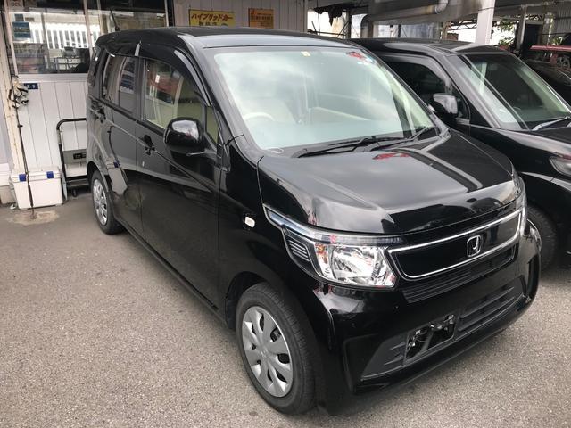 沖縄の中古車 ホンダ N-WGN 車両価格 51万円 リ済込 2014(平成26)年 7.2万km ブラック