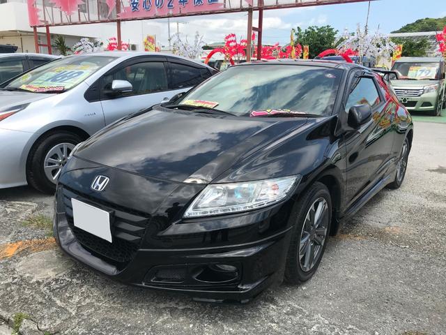 沖縄県豊見城市の中古車ならCR-Z αブラックレーベル HDDナビ