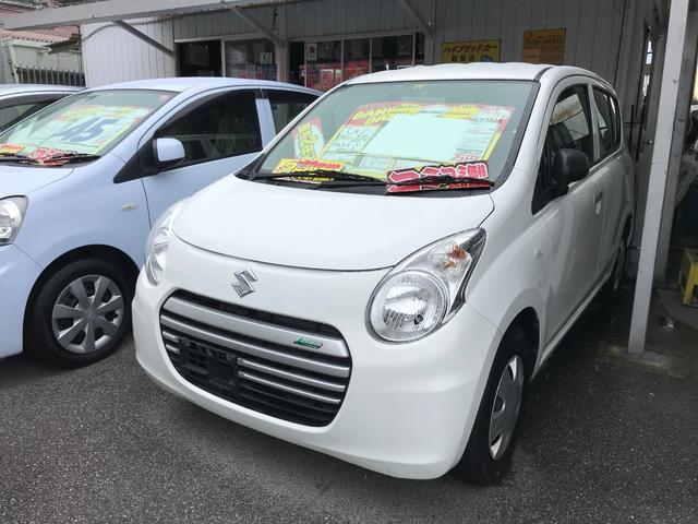 沖縄の中古車 スズキ アルトエコ 車両価格 31万円 リ済込 2015(平成27)年 7.8万km ホワイト