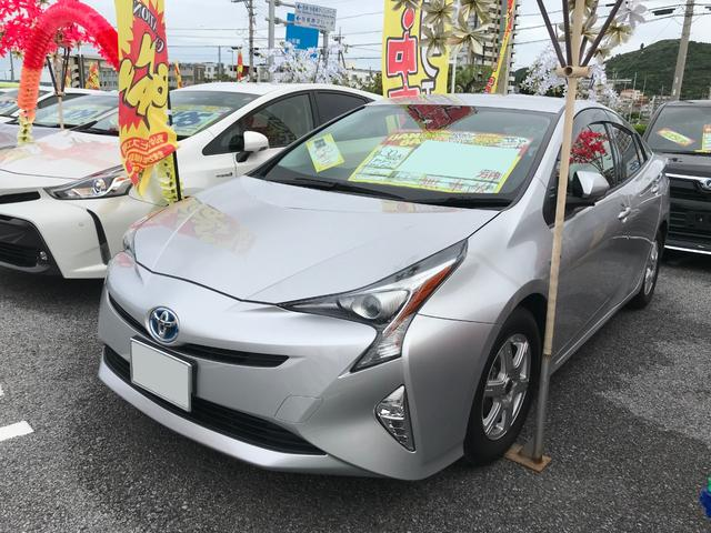 沖縄県の中古車ならプリウス S ドライブレーダー