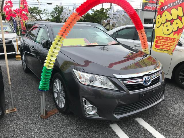 沖縄県の中古車ならカムリ ハイブリッド Gパッケージ フルセグナビ
