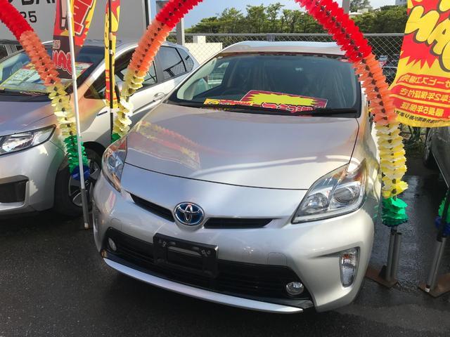 沖縄県の中古車ならプリウス S フルセグナビ バックモニター ブルートゥース ETC