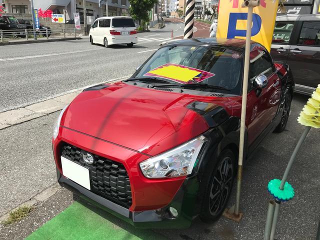 沖縄県の中古車ならコペン エクスプレイ 電動オープン 社外マフラー