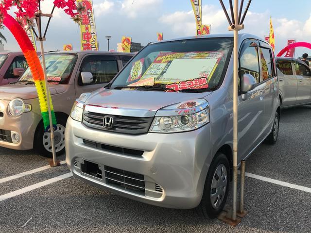 沖縄の中古車 ホンダ ライフ 車両価格 37万円 リ済込 2012(平成24)年 9.1万km アラバスターシルバーメタリック