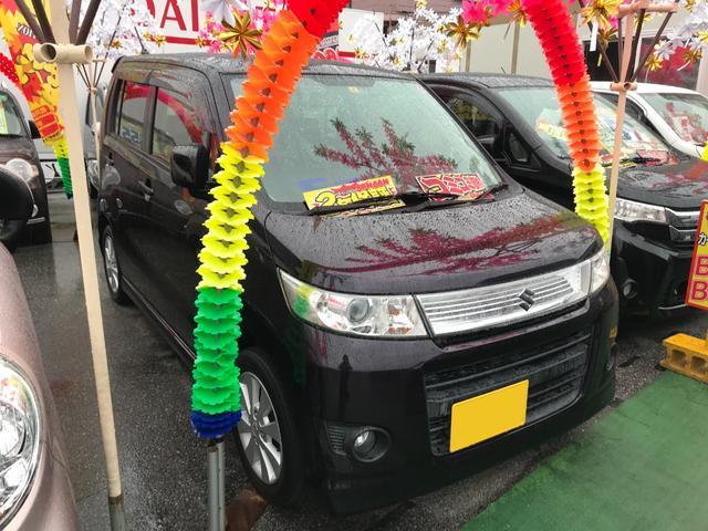 沖縄県豊見城市の中古車ならワゴンRスティングレー Xアイドリングストップ