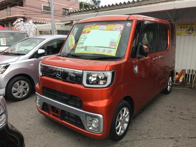沖縄県沖縄市の中古車ならウェイク L ファインセレクションSA 8インチフルセグナビ ブルートゥース バックモニター