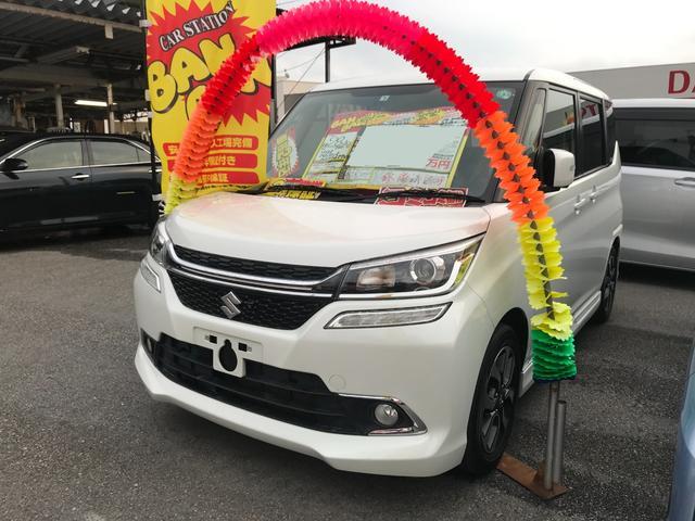 沖縄県沖縄市の中古車ならソリオバンディット ハイブリッドMV フルセグナビ 全方位モニター ブルートゥース