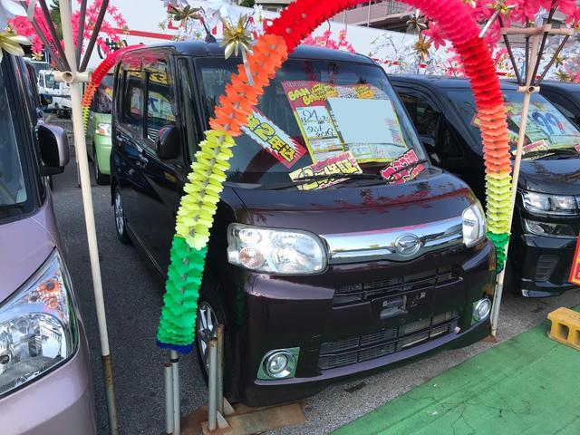 沖縄県沖縄市の中古車ならタント G ワンセグナビ 片側パワースライドドア