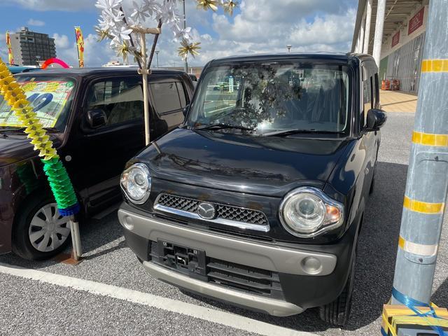 沖縄の中古車 マツダ フレアクロスオーバー 車両価格 71万円 リ済込 2016(平成28)年 8.1万km ブラック