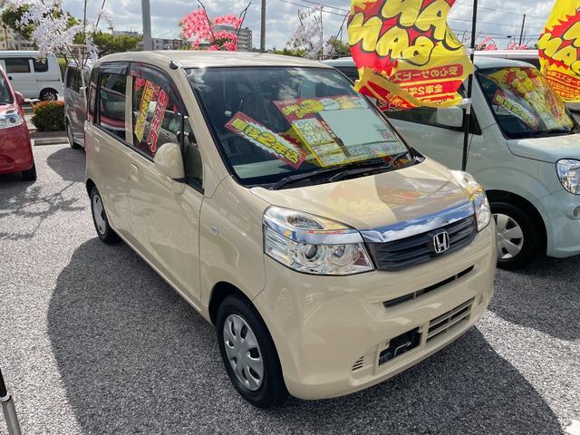 沖縄の中古車 ホンダ ライフ 車両価格 31万円 リ済込 2011(平成23)年 9.8万km バニラクレム