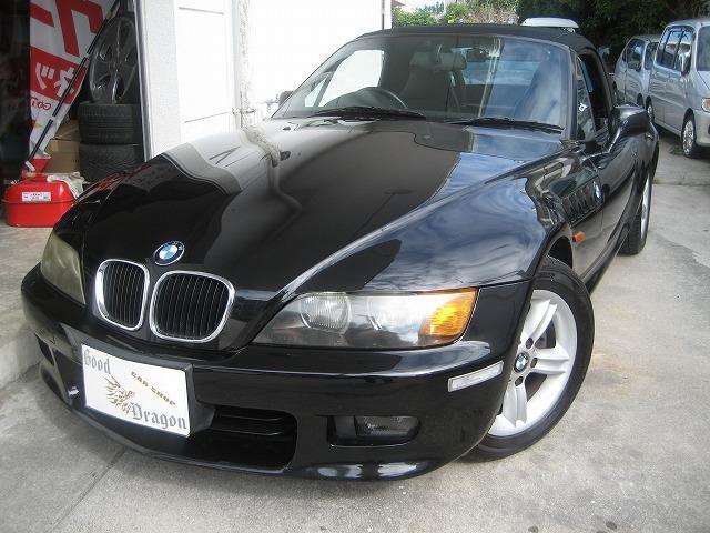 沖縄の中古車 BMW BMW Z3ロードスター 車両価格 65万円 リ済込 2002(平成14)年 7.8万km ブラックM