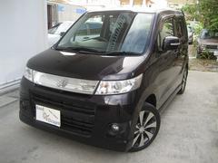 沖縄の中古車 スズキ ワゴンRスティングレー 車両価格 55万円 リ済込 平成24年 9.6万K パープル