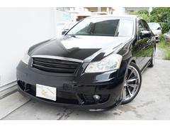沖縄の中古車 日産 フーガ 車両価格 49万円 リ済込 平成16年 13.6万K ブラック