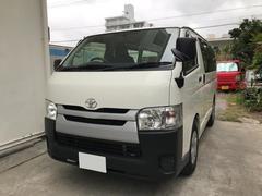 沖縄の中古車 トヨタ ハイエースバン 車両価格 239万円 リ済込 平成26年 5.6万K ホワイト