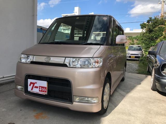 沖縄の中古車 ダイハツ タント 車両価格 27万円 リ済込 平成18年 12.2万km ピンク