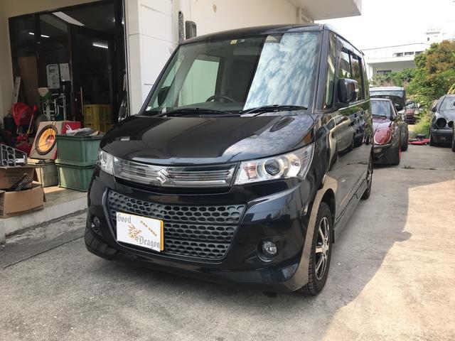 沖縄県の中古車ならパレットSW リミテッドII 2年保証 両側パワースライド スマートキー