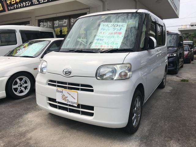 沖縄の中古車 ダイハツ タント 車両価格 25万円 リ済込 2008(平成20)年 17.2万km ホワイト