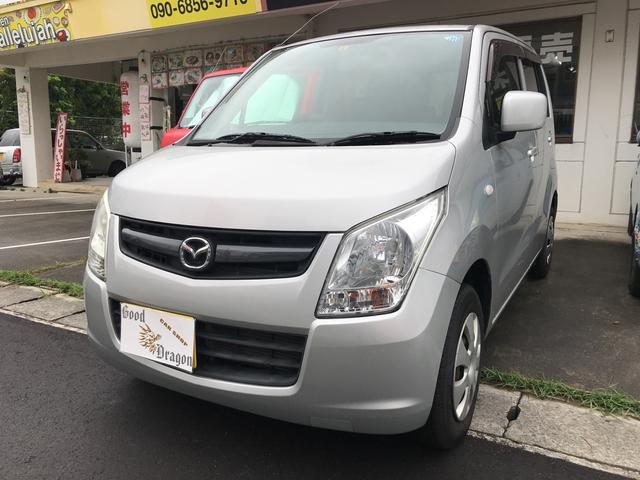 沖縄の中古車 マツダ AZワゴン 車両価格 19万円 リ済込 2009(平成21)年 6.7万km シルバー