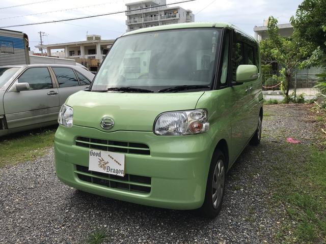 沖縄の中古車 ダイハツ タント 車両価格 65万円 リ済込 2011(平成23)年 5.7万km Lグリーン