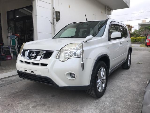 沖縄の中古車 日産 エクストレイル 車両価格 125万円 リ済別 2011(平成23)年 7.3万km パール