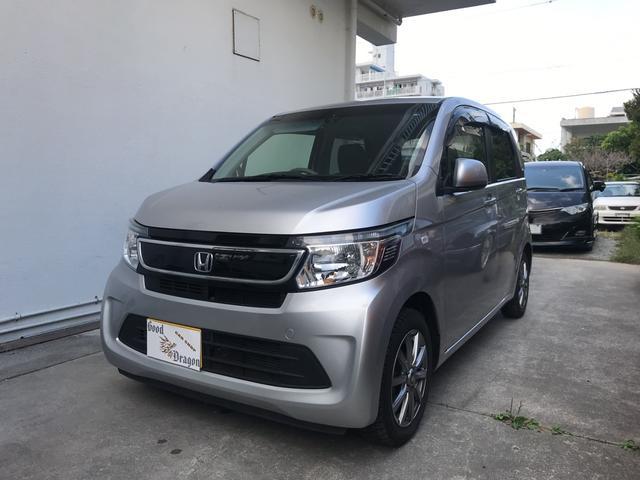 沖縄の中古車 ホンダ N-WGN 車両価格 69万円 リ済込 2014(平成26)年 7.5万km シルバー