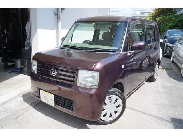 沖縄の中古車 ダイハツ ムーヴコンテ 車両価格 32万円 リ済込 2010(平成22)年 7.1万km ブラウンM