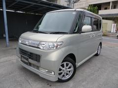 沖縄の中古車 ダイハツ タント 車両価格 63万円 リ済込 平成21年 2.8万K ゴールド