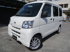 沖縄の中古車 ダイハツ ハイゼットカーゴ 車両価格 68万円 リ済込 平成27年 7.1万K ホワイト