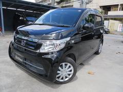 沖縄の中古車 ホンダ N−WGN 車両価格 94万円 リ済込 平成29年 1.6万K ブラック