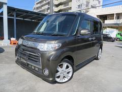沖縄の中古車 ダイハツ タント 車両価格 79万円 リ済込 平成23年 9.2万K ブロンズオリーブ