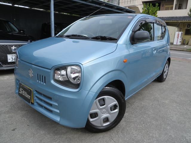 沖縄の中古車 スズキ アルト 車両価格 37万円 リ済込 2015(平成27)年 7.1万km ライトブルー