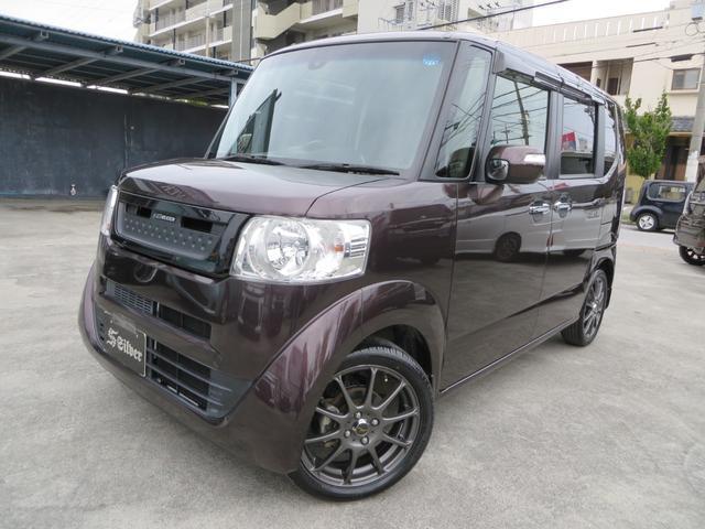 沖縄の中古車 ホンダ N-BOX 車両価格 104万円 リ済込 2016(平成28)年 4.3万km ブラウン