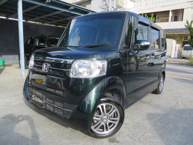 沖縄の中古車 ホンダ N-BOX 車両価格 114万円 リ済込 2016(平成28)年 3.0万km グリーン