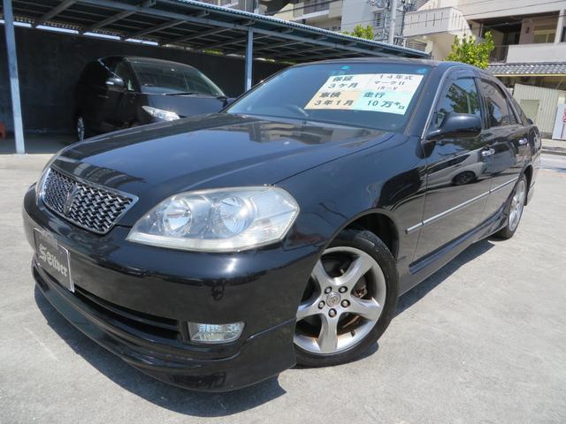 沖縄県沖縄市の中古車ならマークII iR-V 純正フルエアロ・純正17インチホイル